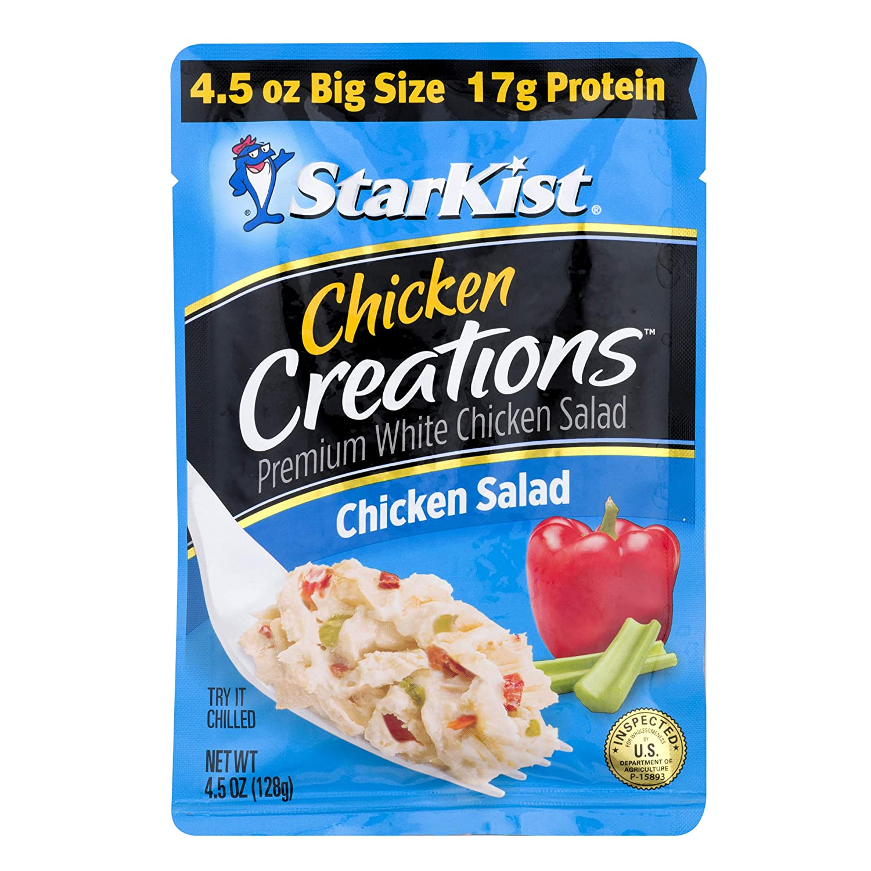 StarKist Chicken Creations Chicken Salad - 4.5 oz Pouch (Pack of 12)
