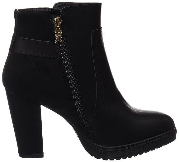 XTI 047215, Botines para Mujer, Negro (Black), 38 EU: Amazon.es: Zapatos y complementos