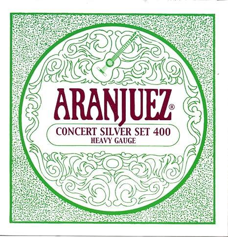 Guitarra clásica de Aranjuez A400 CONCERT SILVER cuerdas – Alta ...