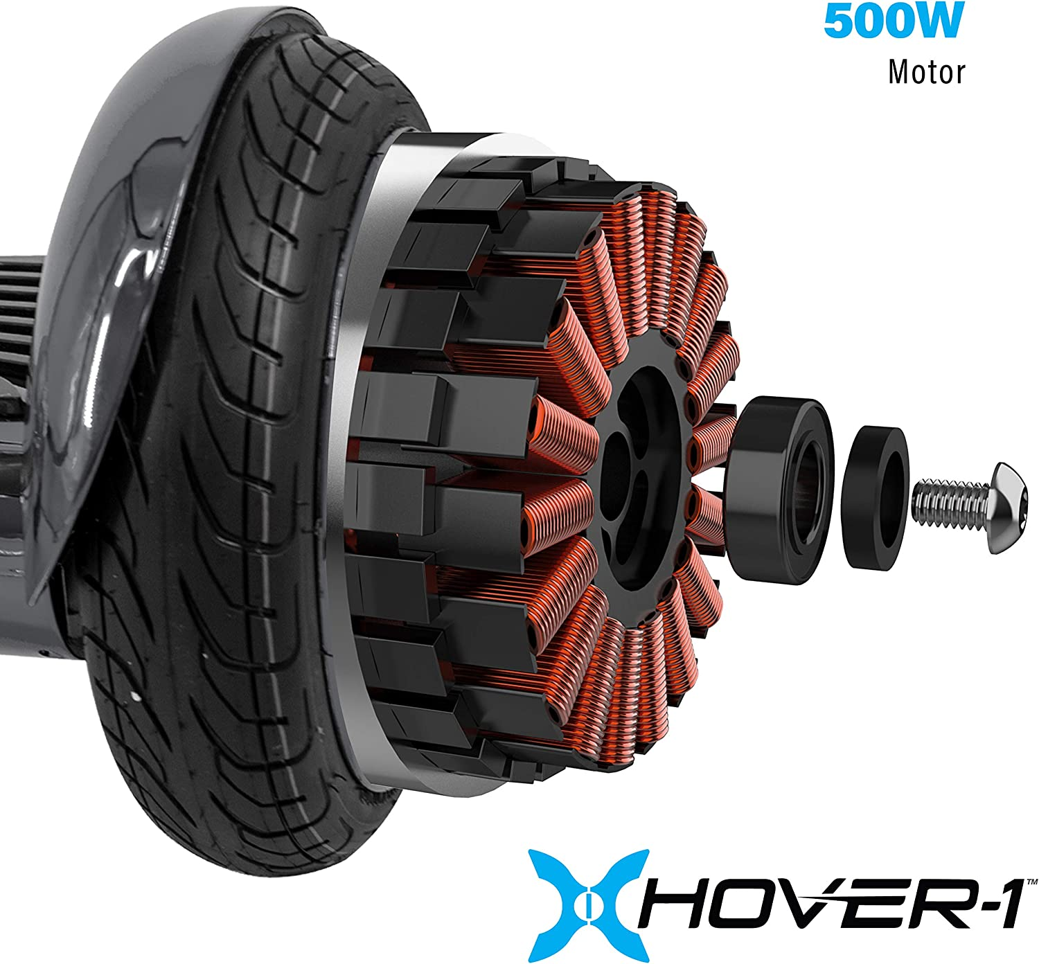 Titan Electric Self-Balancing Hoverboard Scooter with 10