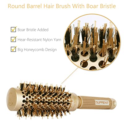 Upgraded Suprent Hair Straightening Brush