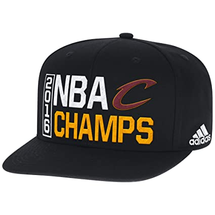 875dc55a47364 Image Unavailable. Image not available for. Color  NBA Cleveland Cavaliers  Men s 2016 Champions Flat Brim Snapback ...