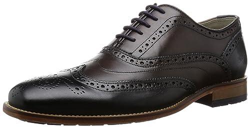 d5f4b3ffe56 Clarks Mens Smart Penton Limit Leather Shoes In Standard Fit Size 7