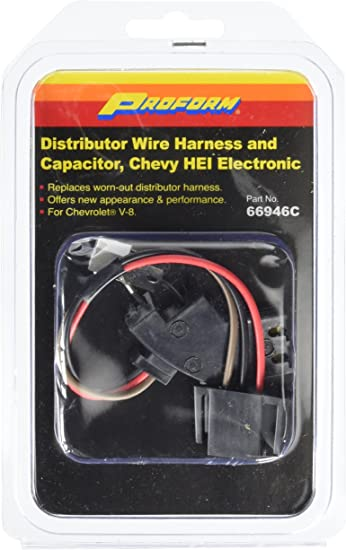 [DIAGRAM_3ER]  Amazon.com: Proform 66946C Wire Harness and Capacitor Kit: Automotive | Delco Hei Wiring Harness |  | Amazon.com