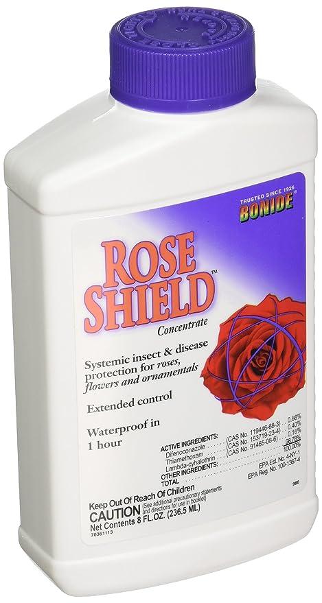 Amazon Com Bonide Rose Shield Concentrate Fertilizer 8 Oz 986