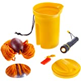 Attwood Marine Bailer Safety Kit - Flashlight Whistle Bailer & Line Bailer Safety Kit 11830-2 - Flashlight Whistle…