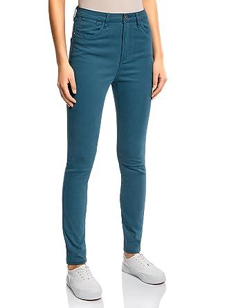 Räumungspreise 100% echt attraktive Mode oodji Ultra Damen Farbige Stretch-Jeans