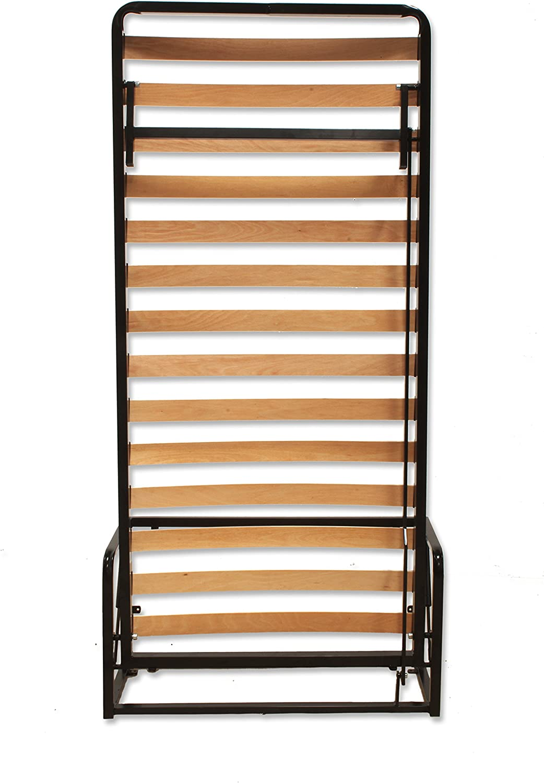 Wallbedking Cama De Matrimonio Abatible Vertical 90 x 190 cm (Cama Doble Estilo Murphy Bed, Cama Plegable, sofá Cama, Mueble Cama Oculta).