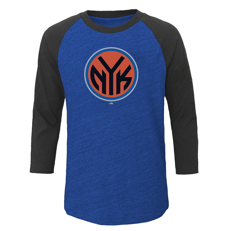 【完売】  NBA New Youth York Knicks子供ユニセックスNBA Youth 3 B01MYR39XG/ 4ラグランスリーブwith画面、XL/、Roy HTH/ Cha HTH B01MYR39XG, 泉区:1a2866a0 --- a0267596.xsph.ru