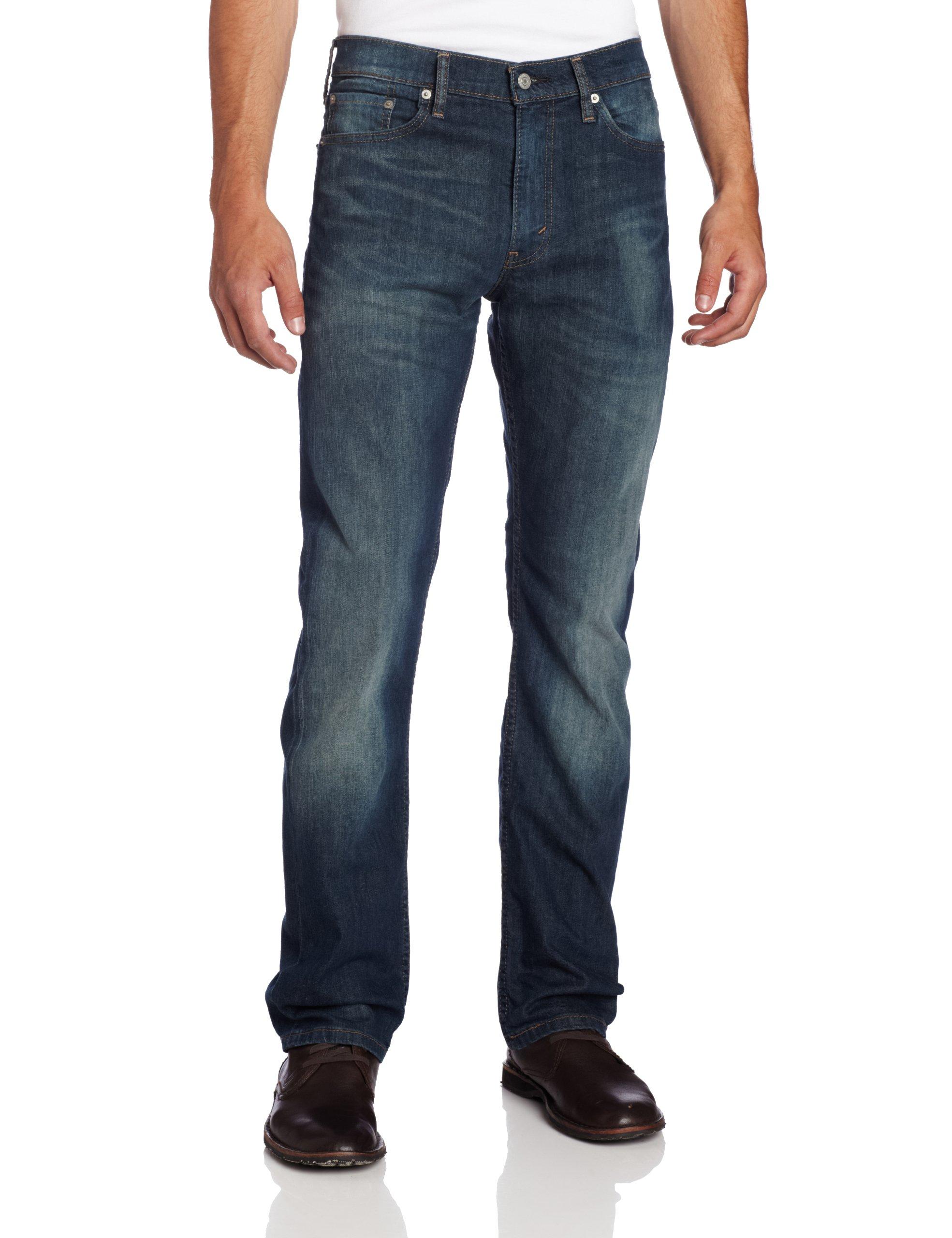 d7c458caa91a01 Levi's Men's 513 Stretch Slim Straight Jean, Cash, 30x30 - 85130200 ...