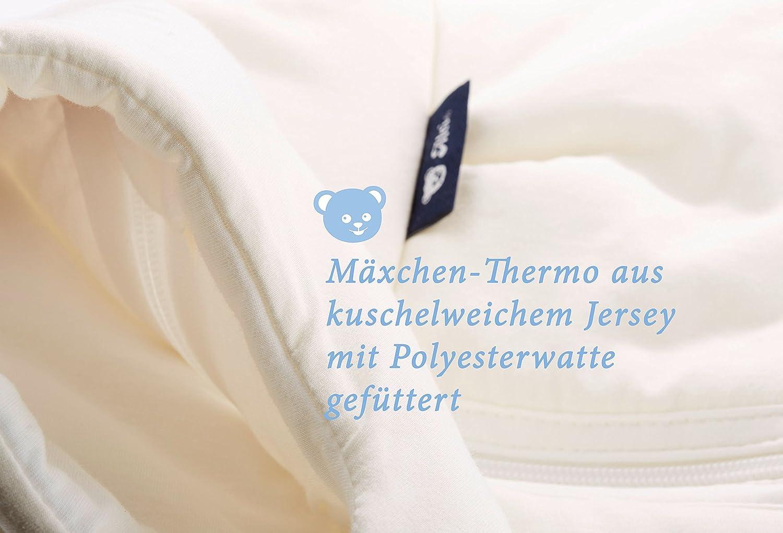 Design:Bunter Stern 583-0 Alvi Baby M/äxchen Thermo Schlafsack Alvi Au/ßensack wattiert Baby-Schlafsack ohne /Ärmel Gr/ö/ße:70 Winterschlafsack /ÖKO-TEX zertifiziert
