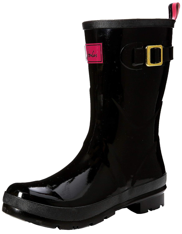 Black Joules Women's Kelly Welly Rain Boot