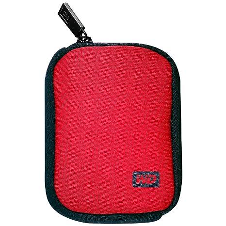 Western Digital My Passport Carrying Case für Externe Festplatten bis 6,4 cm (2,5 Zoll) rot