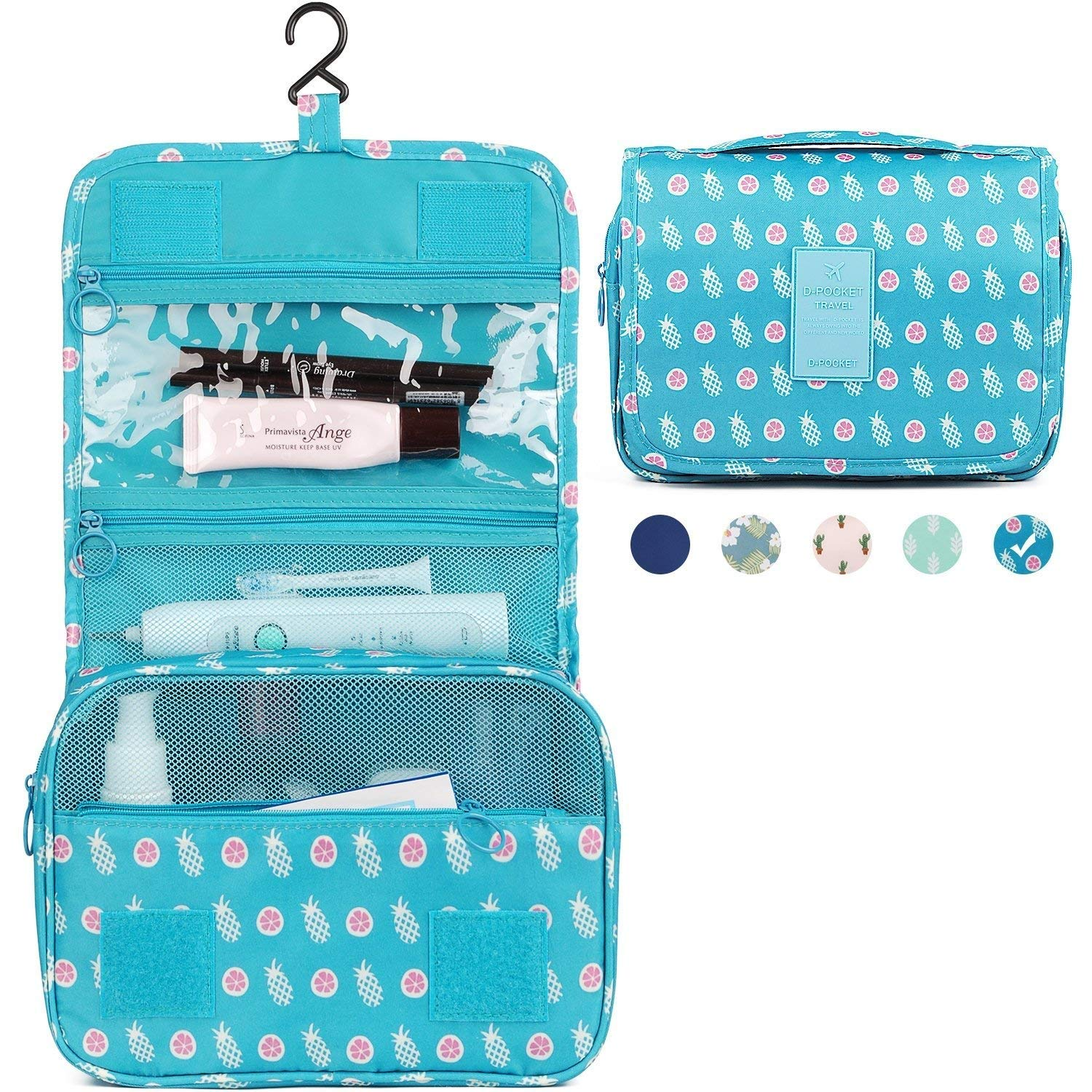 Hanging Travel Toiletry Bag Cosmetic Make Up Organizer Cosmetics Waterproof For Women And Girls