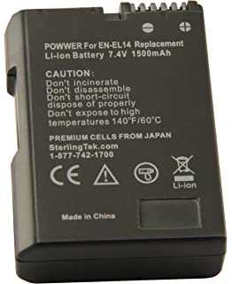 Amazon Com Nikon En El14 Rechargeable Li Ion Battery For Select