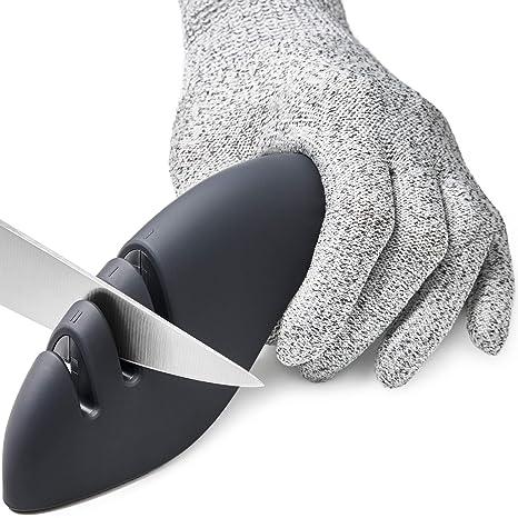 Amazon.com: Afilador de cuchillos de cocina 3 en 1 ...