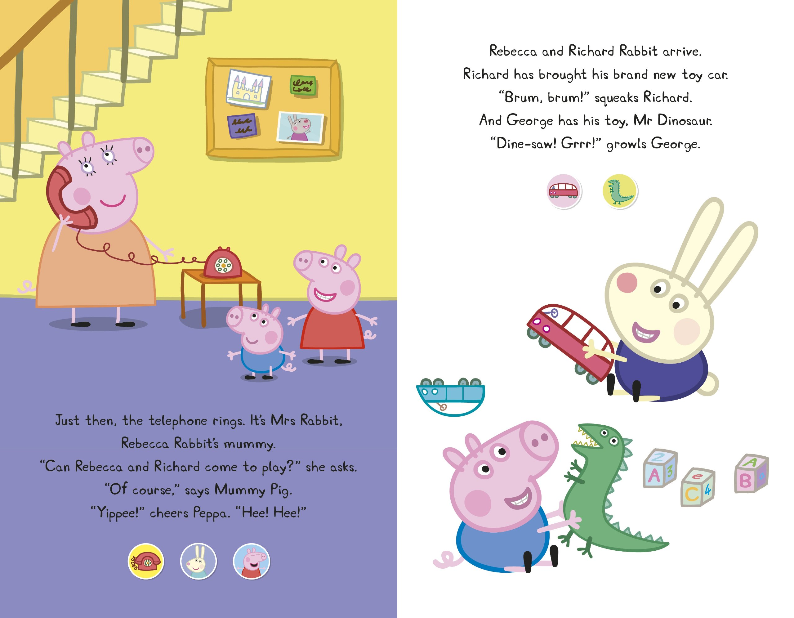 Peppa Pig: Peppa's Super Noisy Sound Book: Amazon co uk: Peppa Pig