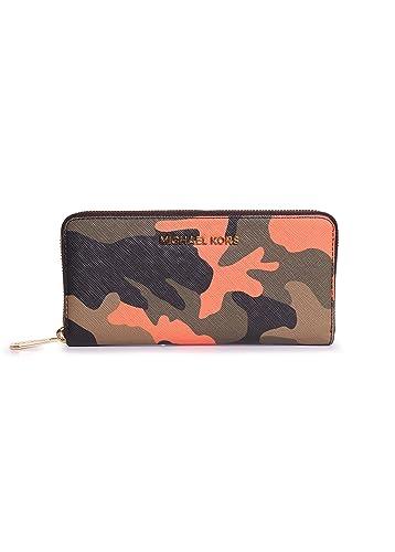 c3138ee9bdd0 Michael Kors Jet Set Travel Poppy Zip Around Continental Accordion Wallet:  Handbags: Amazon.com