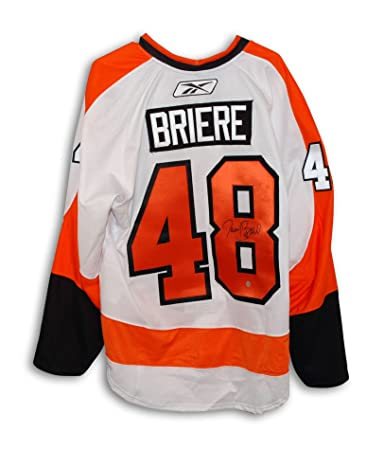 Image Unavailable. Image not available for. Color  Danny Briere  Philadelphia Flyers Autographed White Authentic Reebok Jersey 3f5b3943a