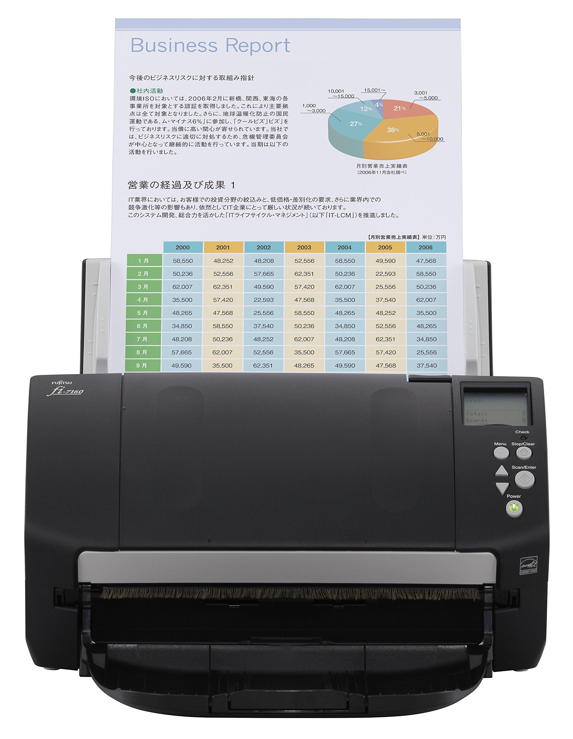 Fujitsu PA03670-B055-R fi-7160 Scanner, Renewed