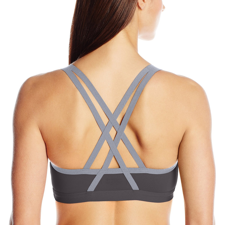 60d41992d5 Lily of France Women`s Crosse Back Medium Impact Active Bra