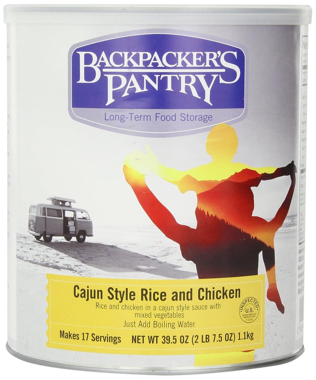 Backpacker Pantry Cajun Huhn mit Reis, 39,5-Unzen