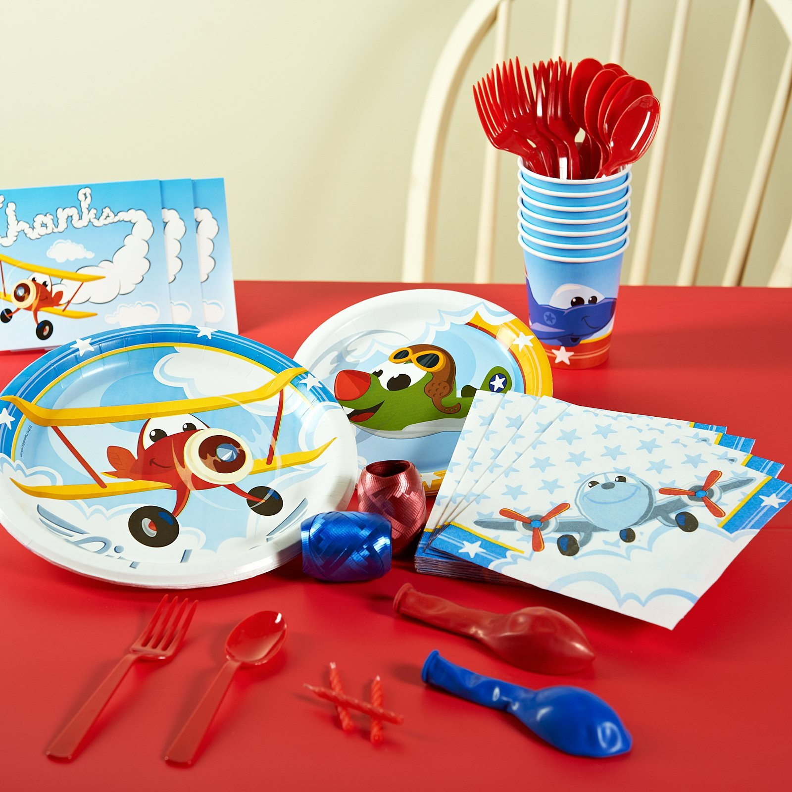 Airplane Adventure Basic Party Pack for 16 by BirthdayExpress