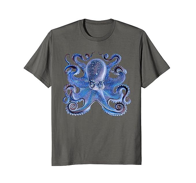 Amazon.com: Pulpo Colorful clásico Kraken Calamar gigante T ...