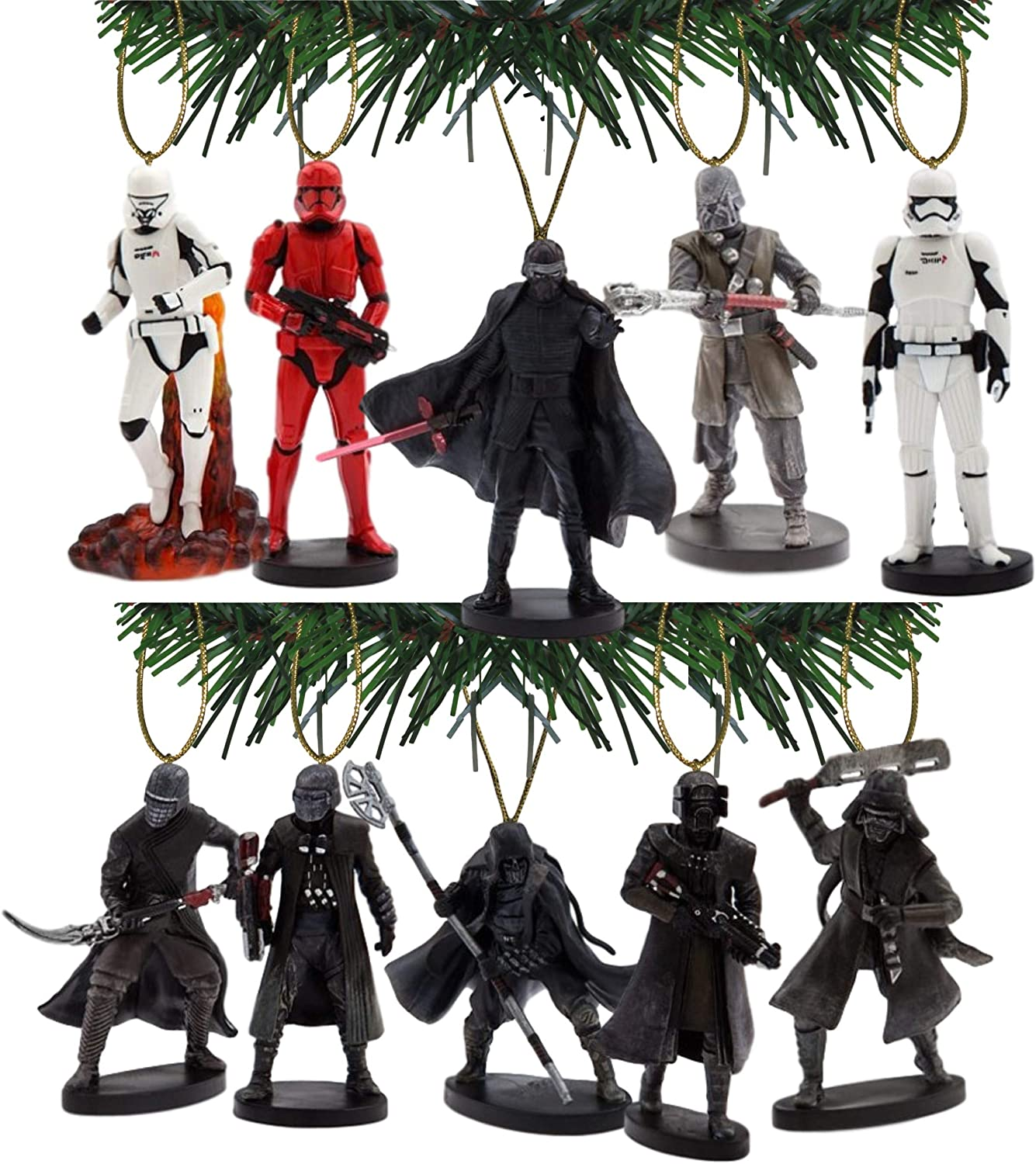 Characteristix Disney's Star Wars The Rise of Skywalker The First Order Ornament Set