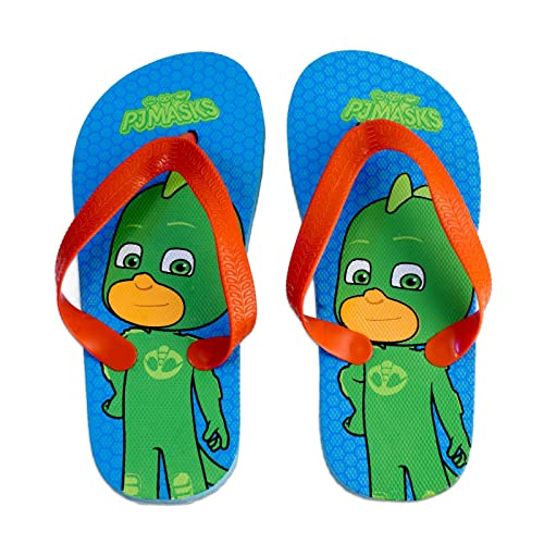 PJ Masks Superpigiamini - Sandalias de Material Sintético para niño Azul Size: 24/25 EU: Amazon.es: Zapatos y complementos