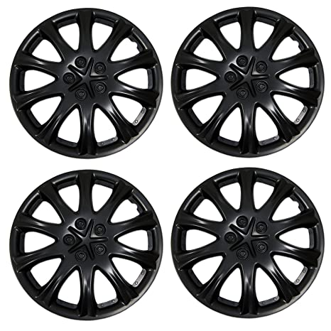 Amazon.com: Tuningpros WC3-15-503-B - Pack of 4 Hubcaps - 15-Inches ...