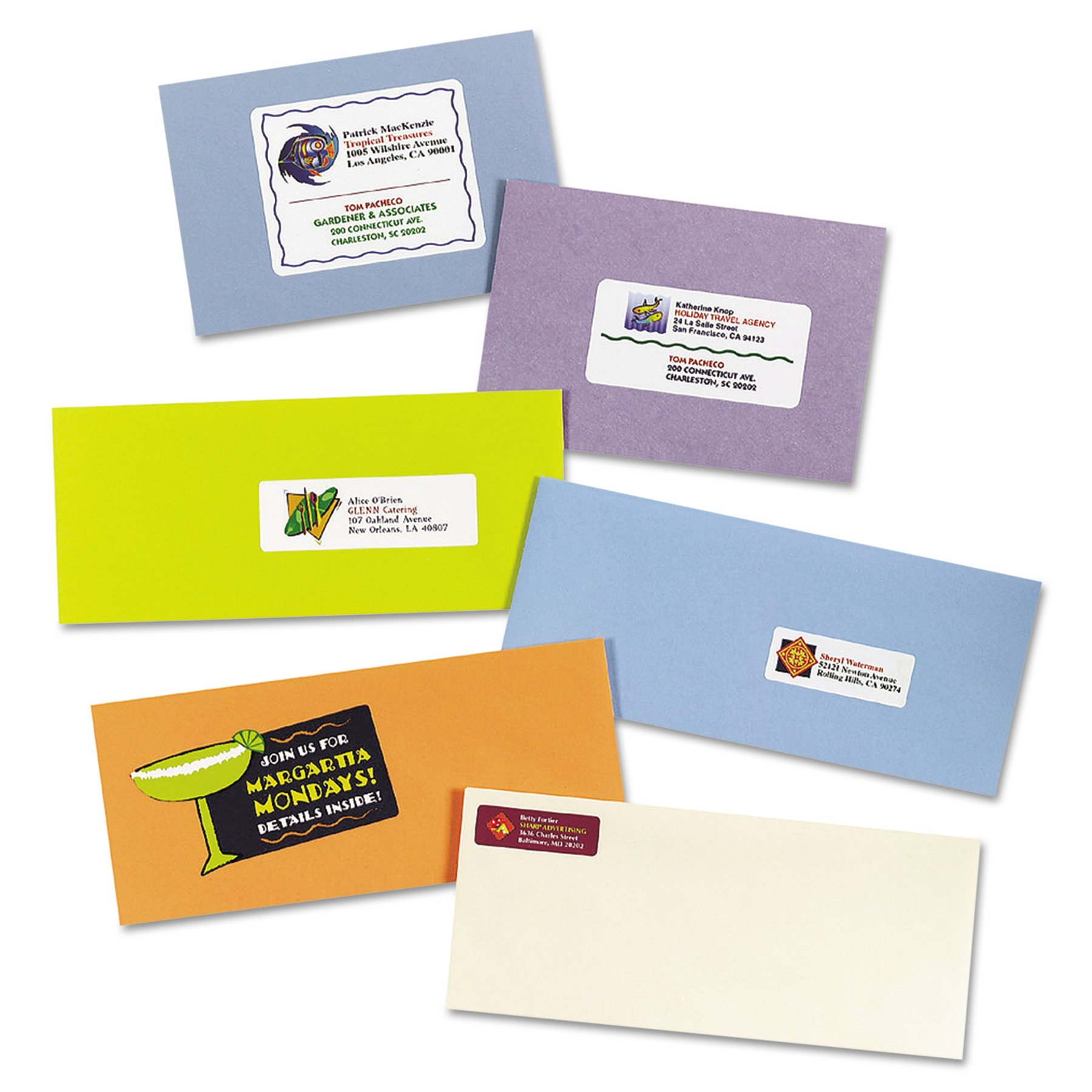 Avery Address Labels For Ink Jet Printers 8250 (20 Sheets) by Avery (Image #4)