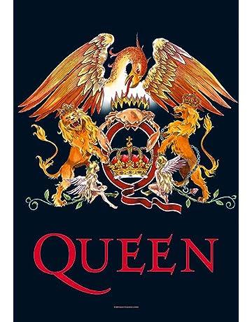 Queen – Crest – posterflaggen Bandera – Tamaño 75 x ...
