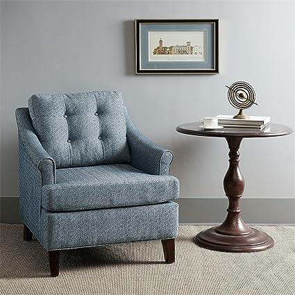 Charleston Tufted Club Chair Navy