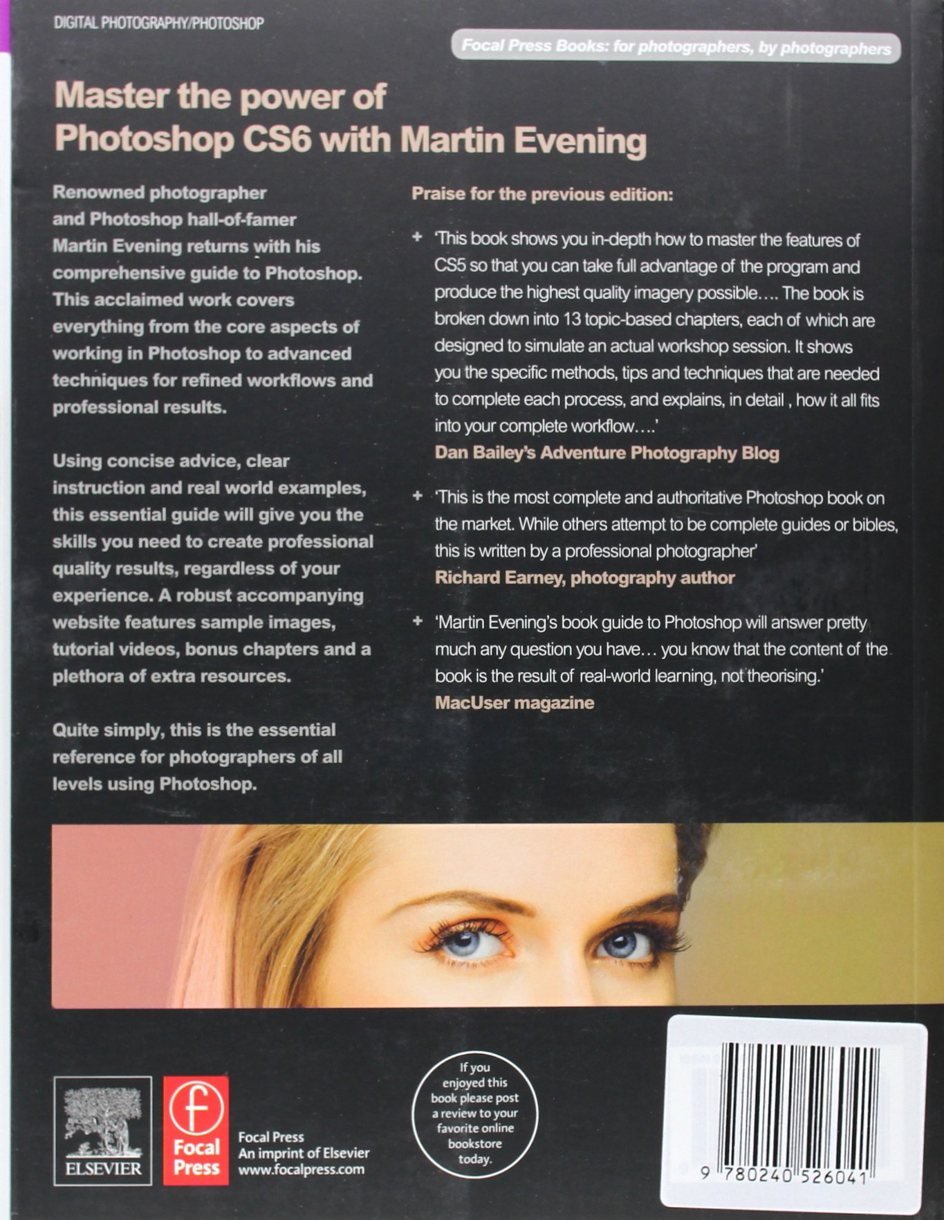 Adobe Photoshop Cs6 For Photographers A Professional Image Editors