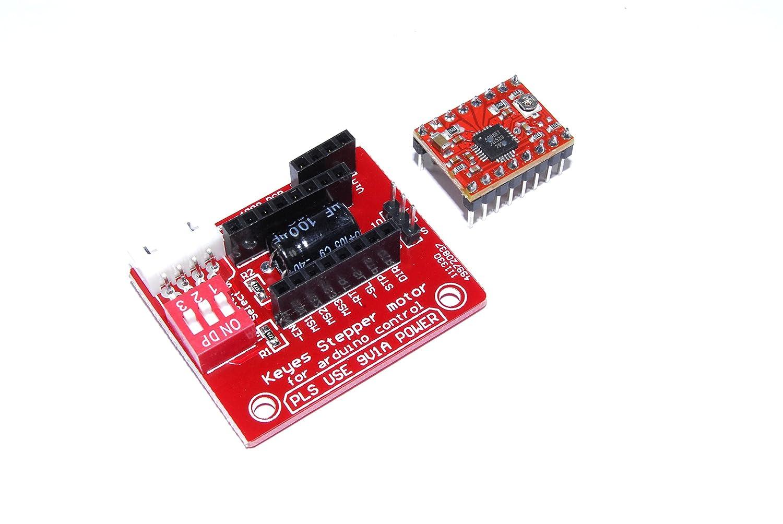 Keyes 9 V A4988 controlador y controlador CNC Stepper Arduino PI ...
