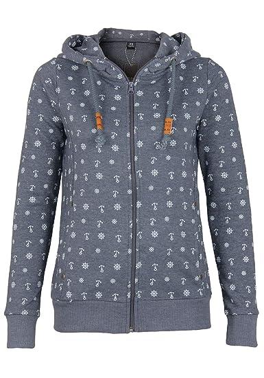 815e7c115c4cec Sublevel sweatshirt with hood for women: Amazon.co.uk: Clothing