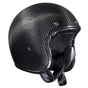 ece-certified carbono casco jet de Bandit cascos, hombre mujer, gris oscuro