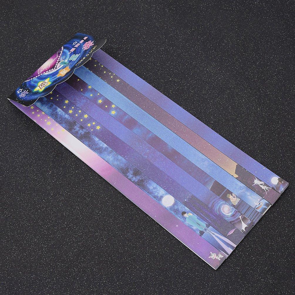 ynuth 160pcs bandas de papel Origami diseño bóveda Etoilée ...
