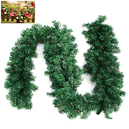 9ft27m christmas garlands decorated long wreath garland xmas christmas swags decoration