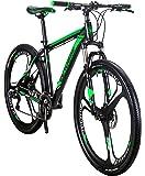 Extrbici X9 マウンテンバイク MTB 自転車 自転車本体 シマノ21段変速 29インチ アルミフレーム ディスクブレーキ サスペンション 防犯登録可能