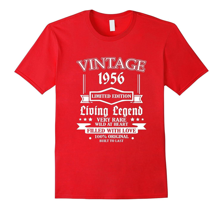 4324e63d Vintage Tee 1956 60 Years Old 60th Birthday Idea Gift Shirt-BN – Banazatee