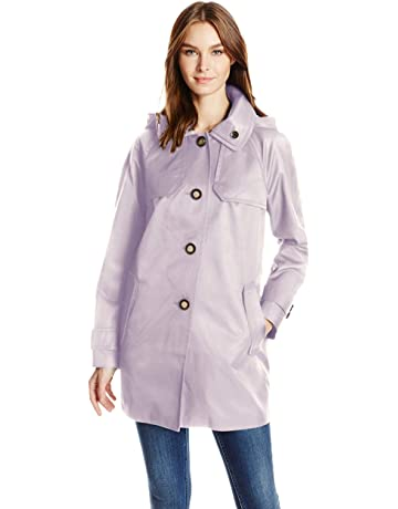 8733f2b0f London Fog Women's Button Front Topper. #1