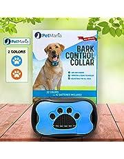Dog Bark Collar with Vibration PetMania, No Bark Collar, NO SHOCK, Harmless and Humane, Training and Anti Bark Collar, 7 Progressive/Adjustable Levels