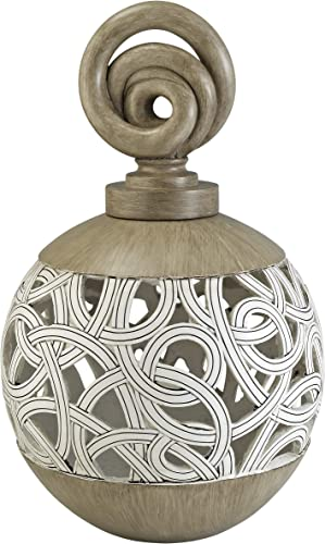 OK Lighting Carved Strings Decorative Vase