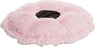 product image for BESSIE AND BARNIE Ultra Plush Bubble Gum/Black Puma (Patch) Luxury Shag Deluxe Dog/Pet Cuddle Pod Bed