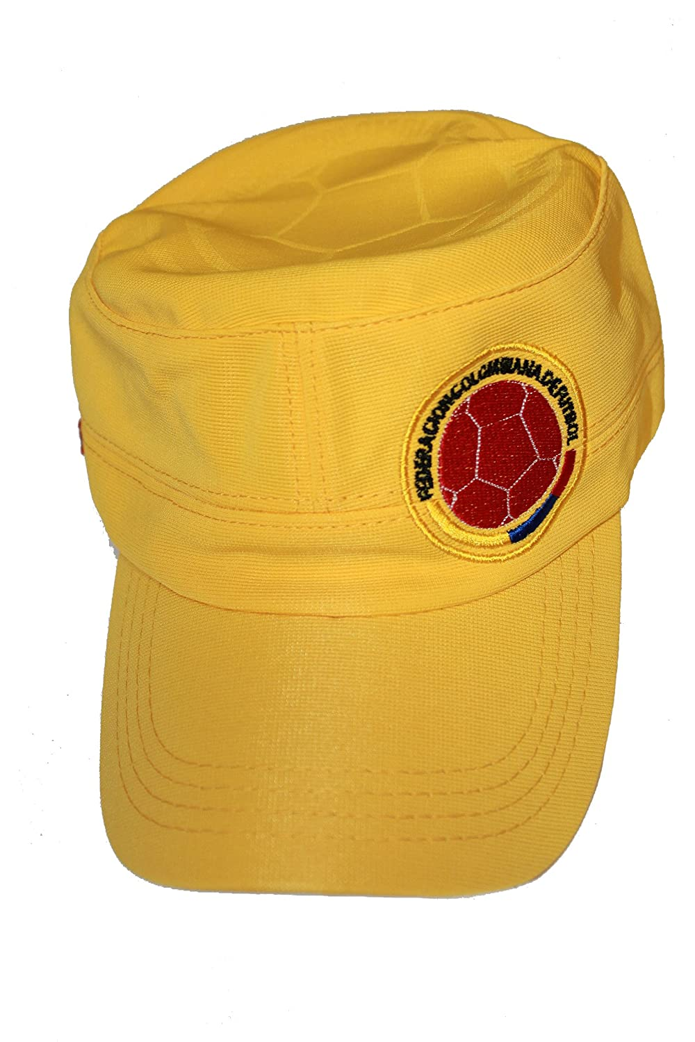 Amazon.com   Colombia Yellow FIFA Soccer World Cup Military Hat Cap .. New    Sports   Outdoors 1a22f2305b4
