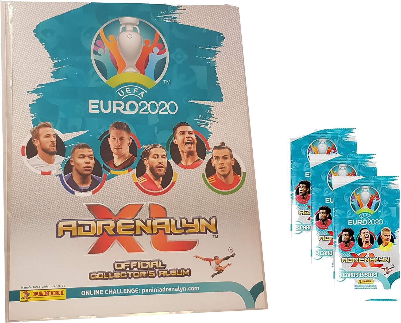 Unbekannt Panini UEFA Euro 2020 Adrenalyn XL - Álbum de Fotos (vacío, Incluye 3 Paquetes de Refuerzos): Amazon.es: Juguetes y juegos