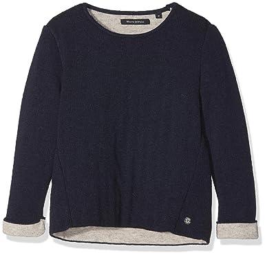 Marc O Polo Kids Baby M/ädchen Sweatshirt Sweatshirt 1//1 Arm