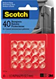 """Scotch Bumpers, 40 Bumpers/Pack, Clear, 1/2"""", (SP951-NA)"""